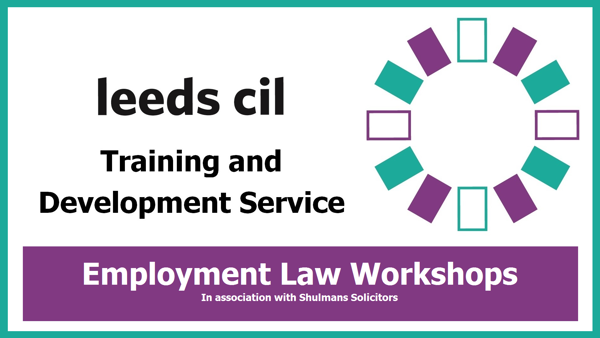 Banner image for Leeds CIL Employment law workshops